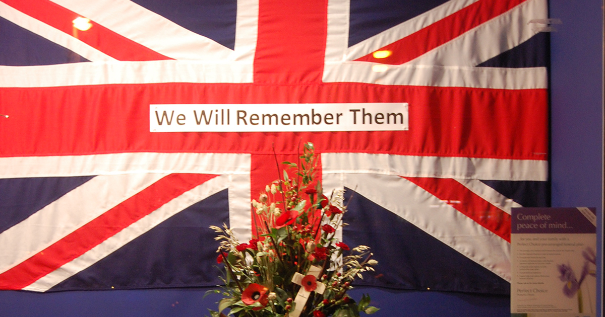 We will Remember them Featured