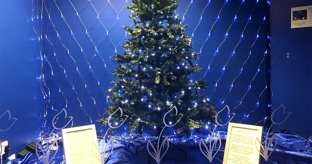 Christmas Memorial Tree display for 2019