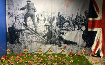 Royal British Legion annual window display